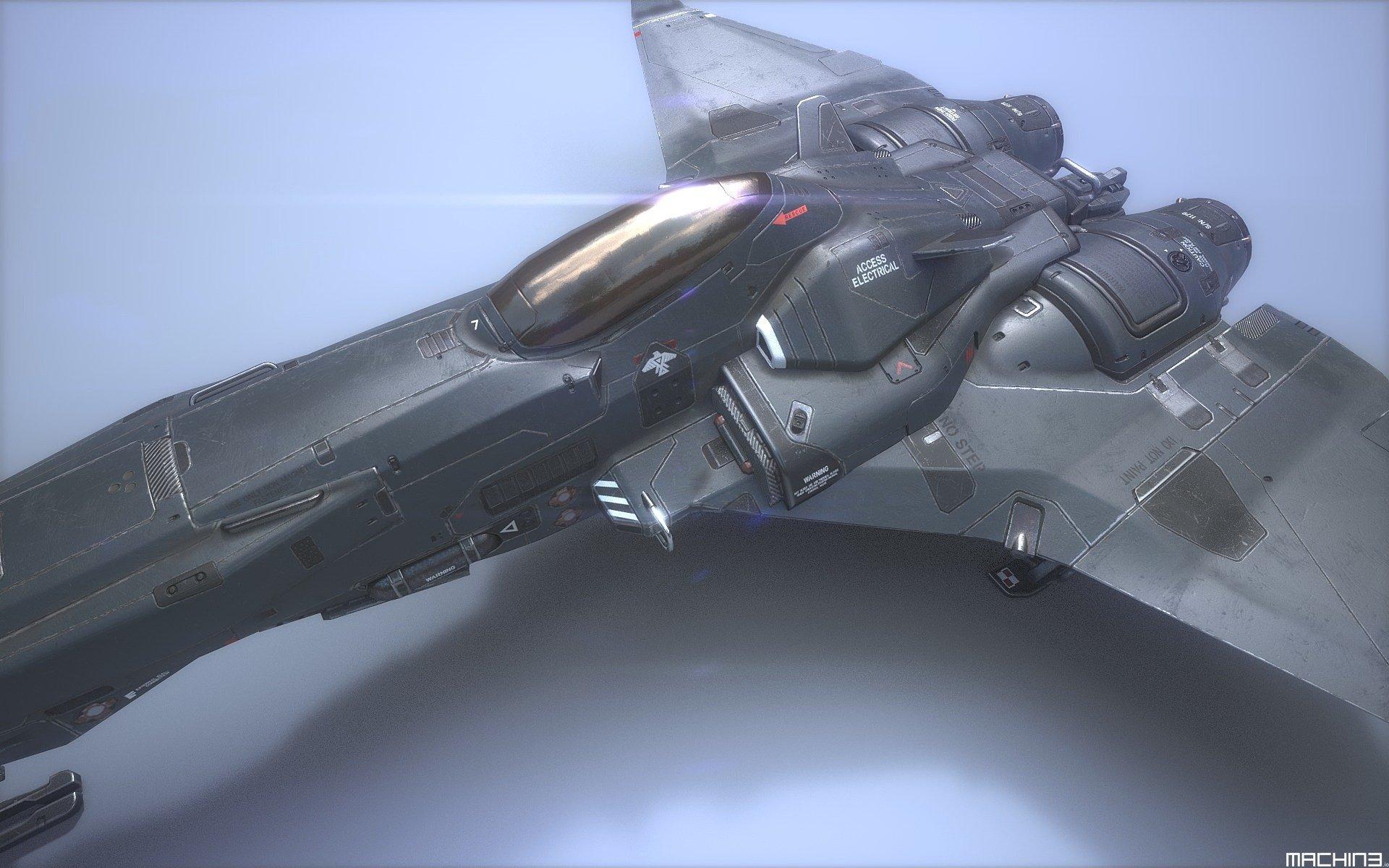 The Starfighter 3D Game Asset - MACHIN3 io